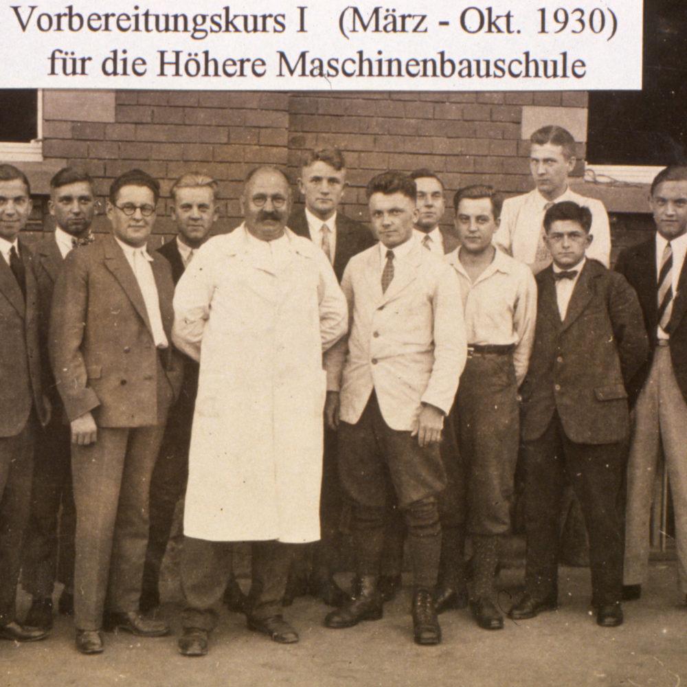 Vorbereitungskurs 1930